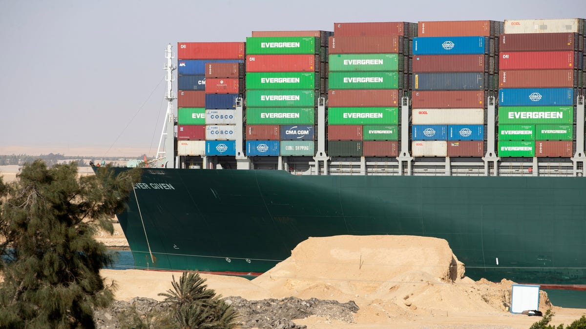 Suez Canal Adding Another Lane To Prevent Another Ever Given-Style Mishap