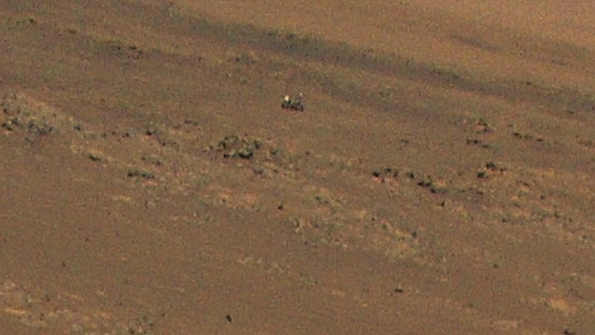 Just Two Robots Hanging Out on Mars thumbnail