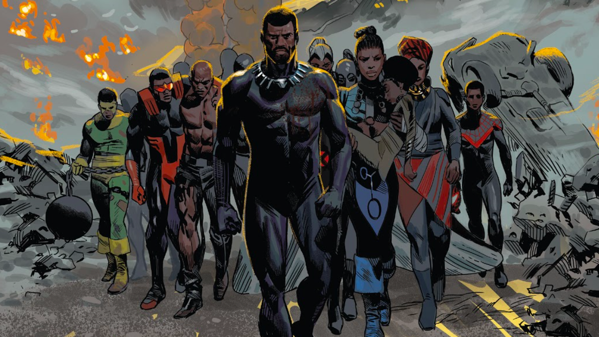 Black Panther Writer Ta-Nehisi Coates Wants Better for Creators Bringing These Stories to Life thumbnail