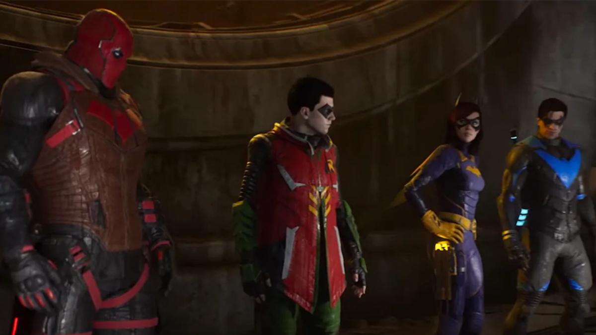 Gotham Knights Footage Teases a Batfamily Brawl