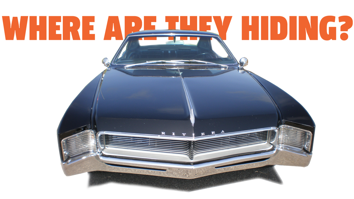 See If You Can Figure Out How A '66 Buick Riviera Hides Its Headlights