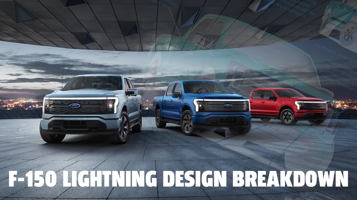 Let's Dig Into The Design Of The 2022 Ford F-150 Lightning