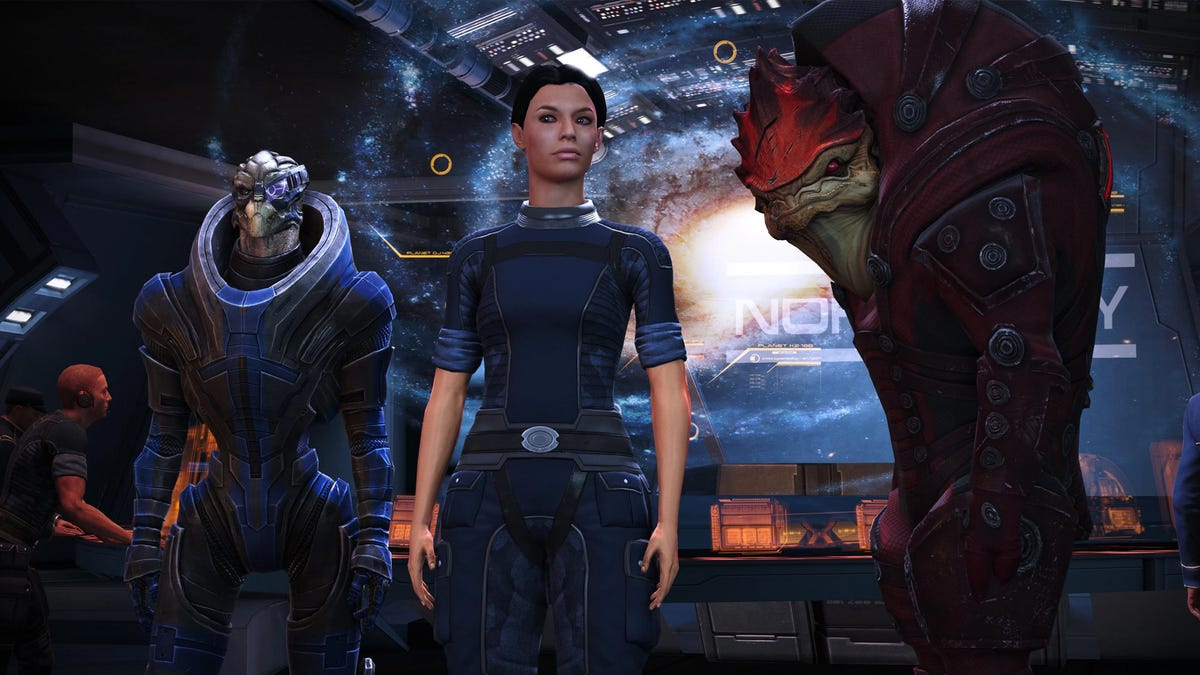 I Forgot Mass Effect 1 Ends With An Electronic Rock Song