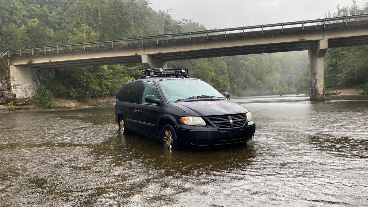 Ich kaufte einen $900 Rustbucket Minivan und nahm es auf einem 1,500-Meilen-Abenteuer