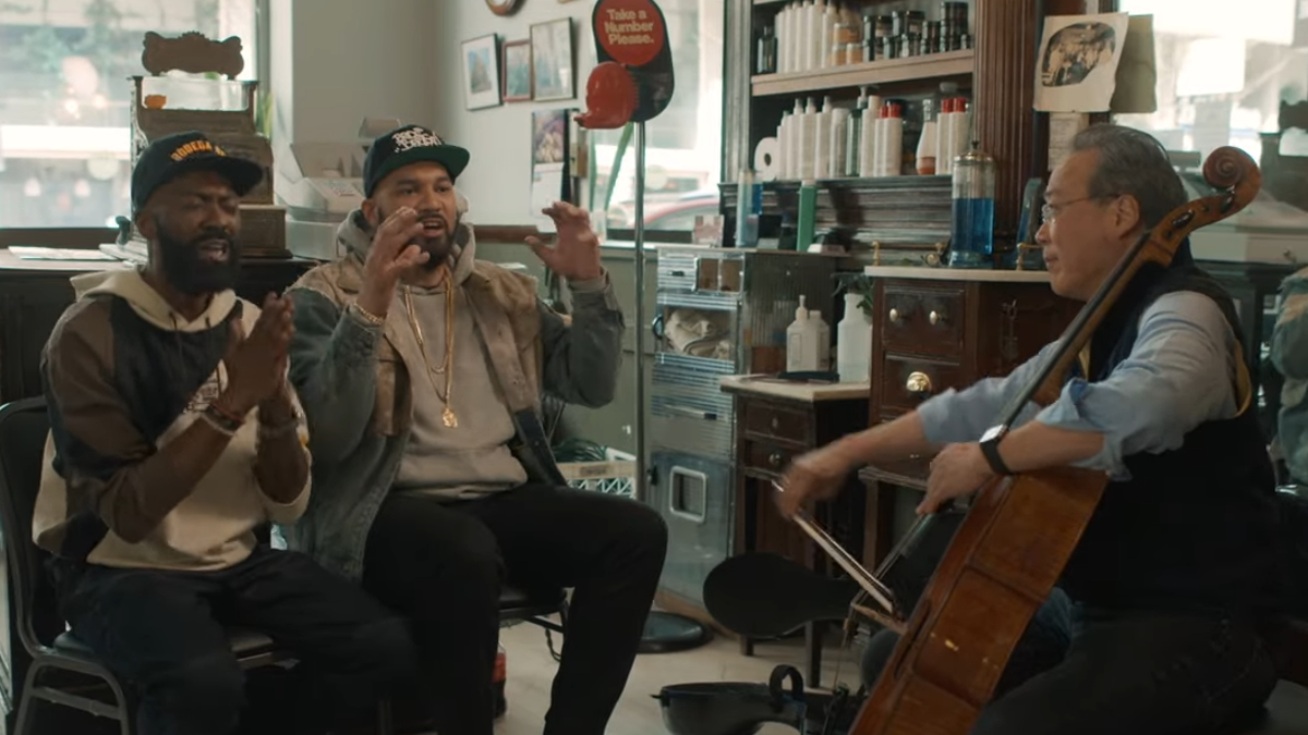 Yo-Yo Ma covers Britney Spears, DMX, and Sisqó for Desus & Mero