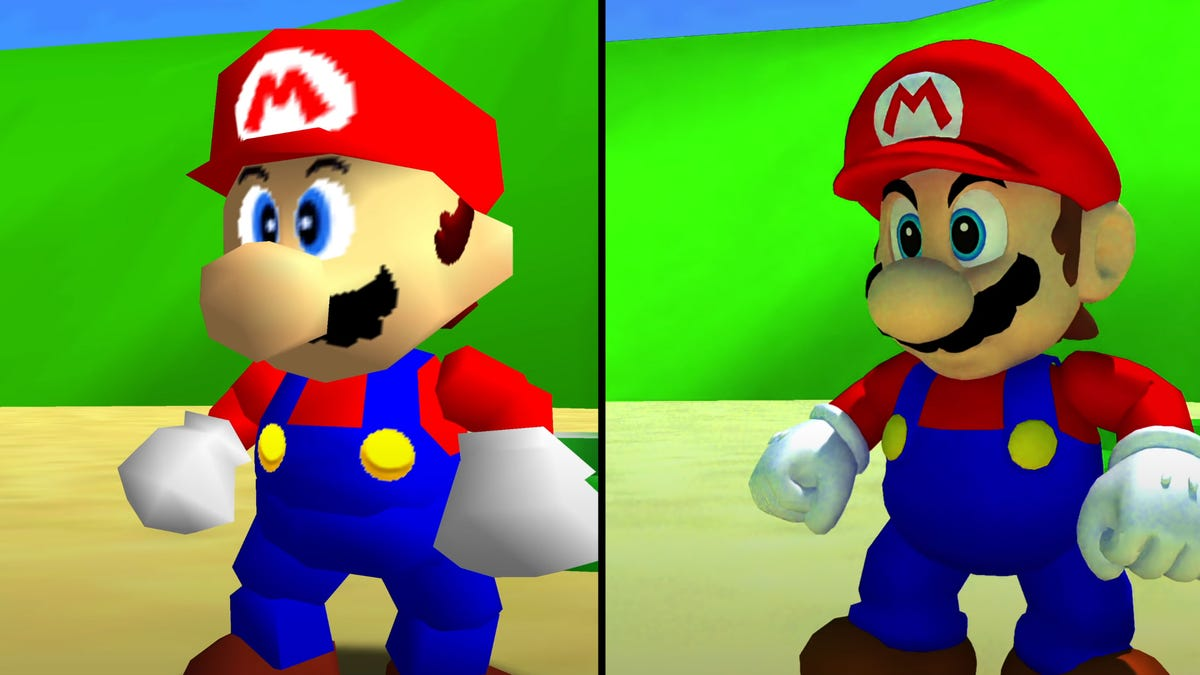Super Mario 64 On PC Looks Like An Entirely Different Game