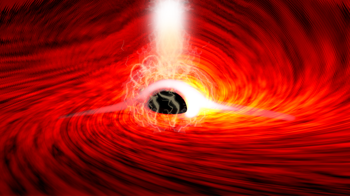 Physicists See Light Echoing From Behind a Black Hole for the First Time thumbnail