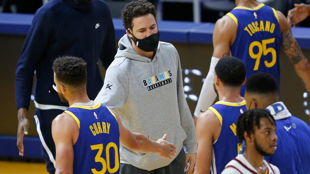 The Warriors would've won by 30 if Klay were healthy