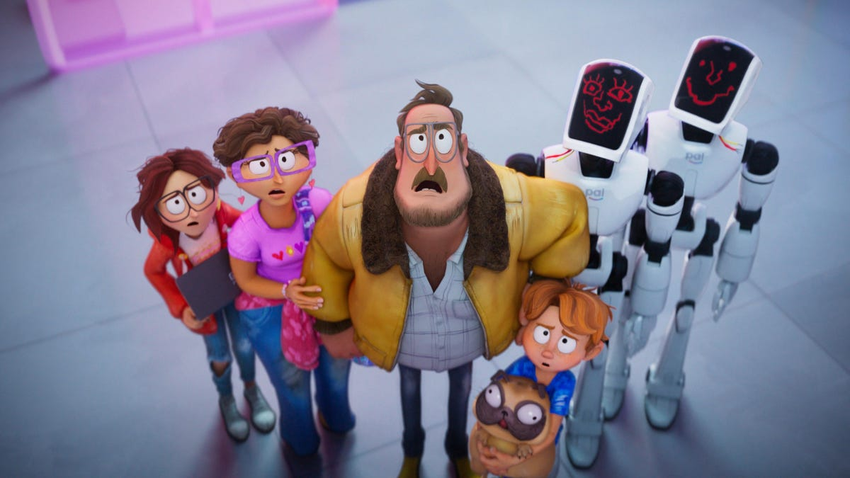 Netflix's delightful The Mitchells Vs. The Machines fights off animated routine