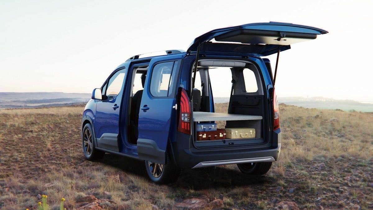 Der Peugeot Rifter fügt ein Kinderbett hinzu und verkleinert das Vanlife