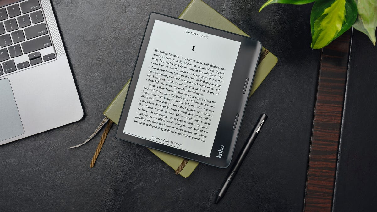 Kobo's New E Ink Tablet Is a Cheaper, Smaller reMarkable Alternative thumbnail
