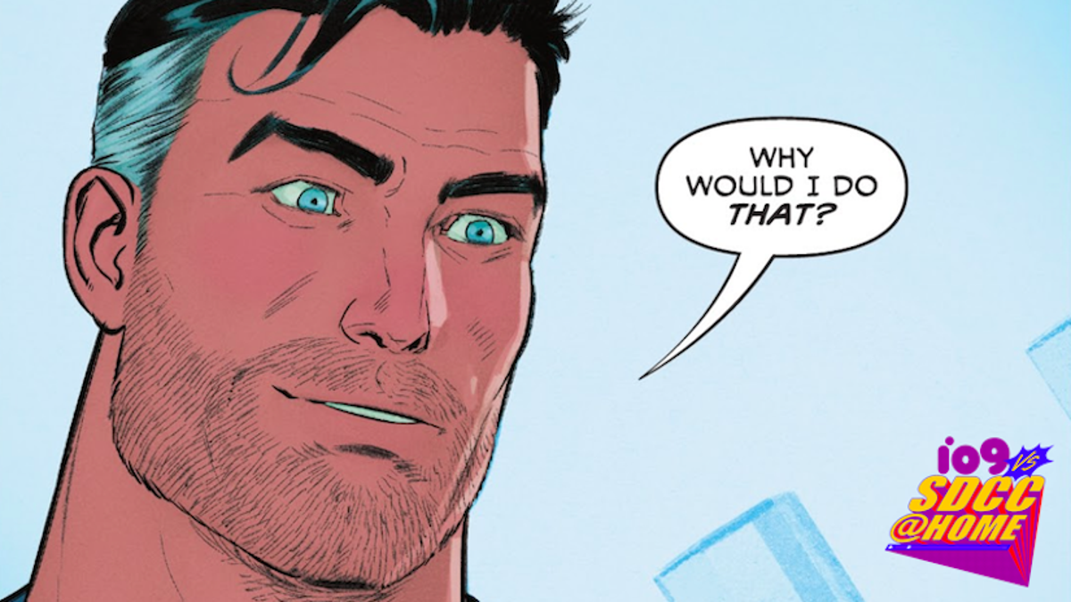 Superman's About Trade in His Cape for a Midlife Crisis
