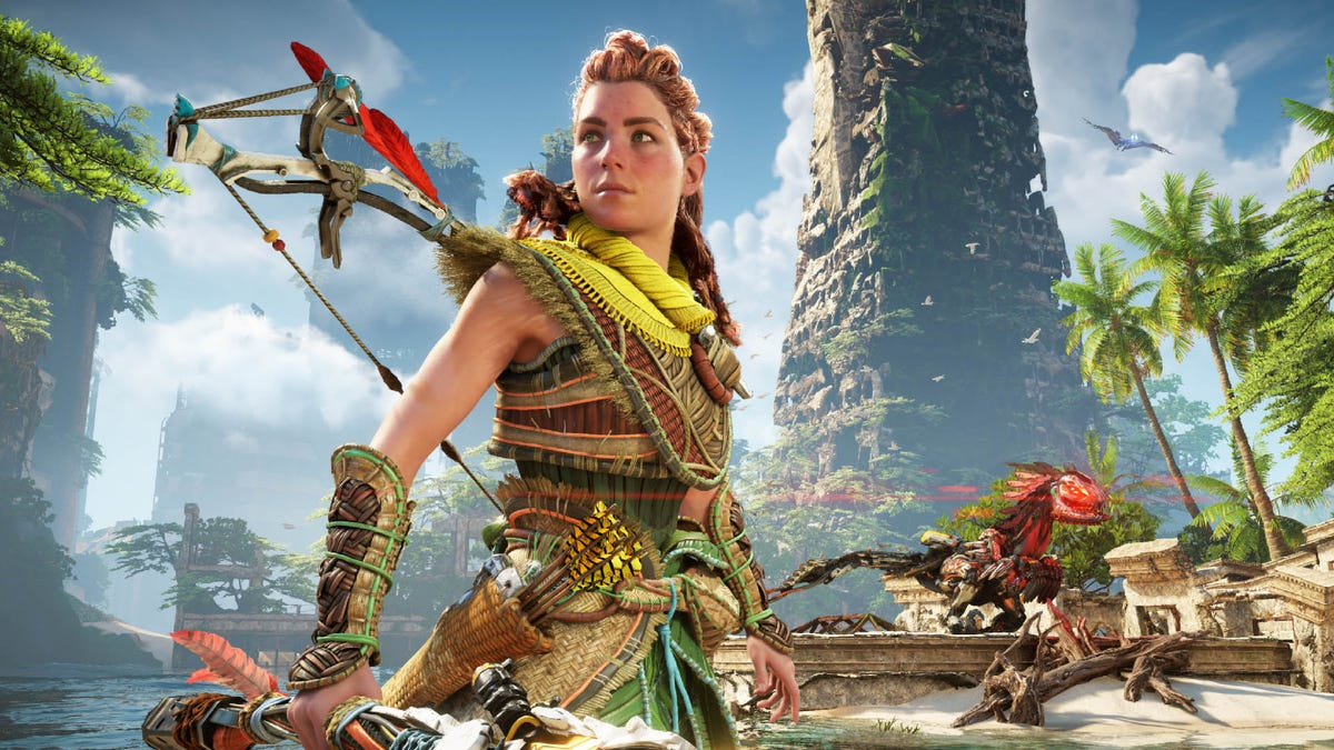 Horizon Forbidden West's Aloy Will Look Realistic AF On PS5, Peach Fuzz And All