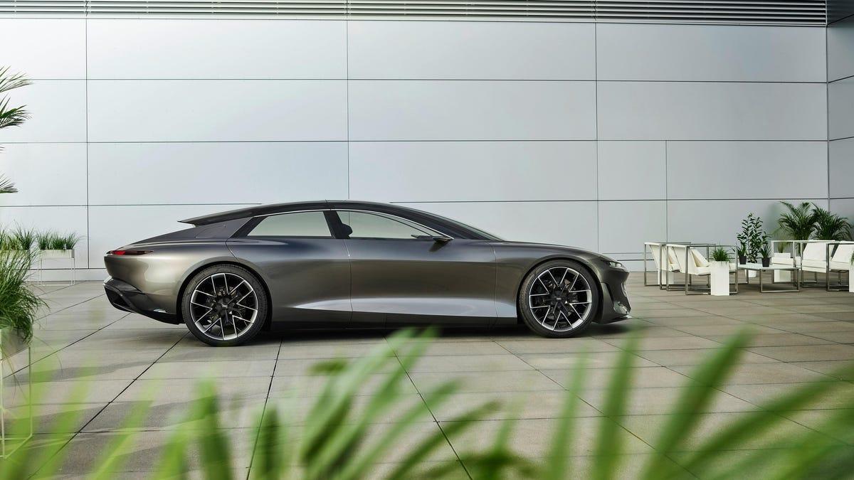 Das Audi Grandsphere Concept beweist, dass EVs auch Boote sein können€
