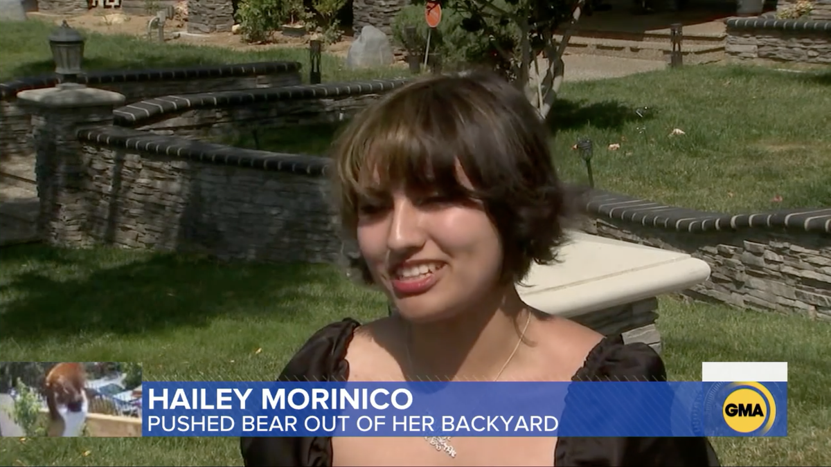 Let's Check On the 17-Year-Old Girl Who Shoved a Bear to Protect Her Dogs