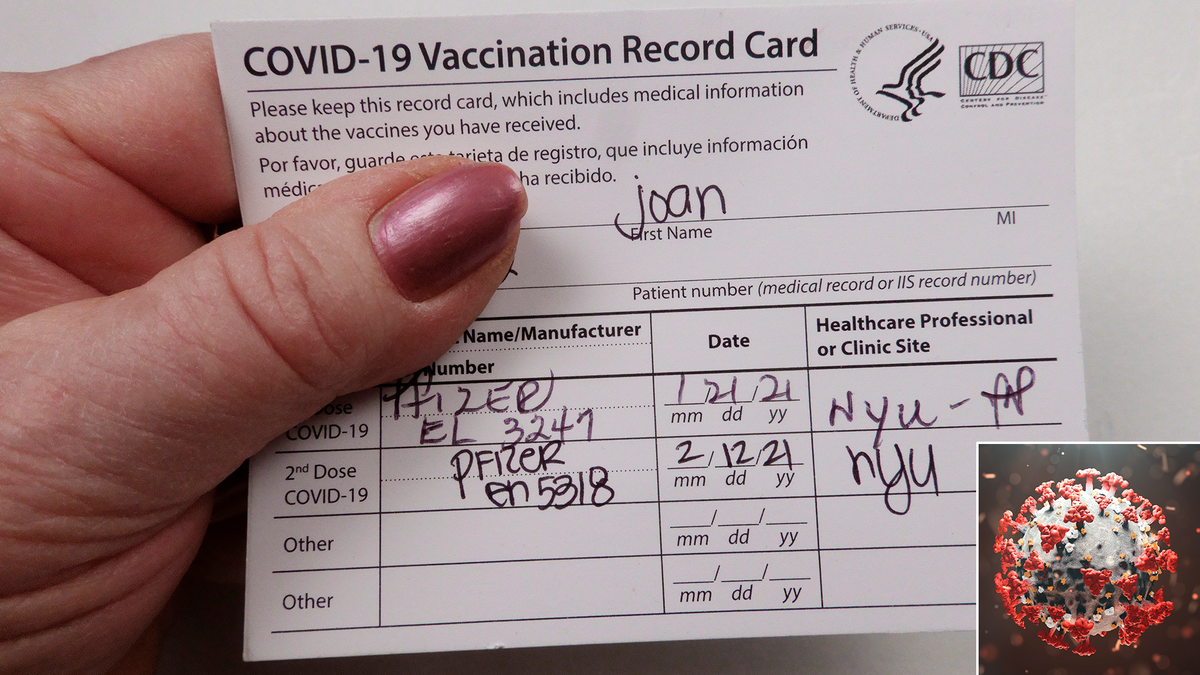 Study Finds Virus Frequently Fooled By Fake Vaccine Card