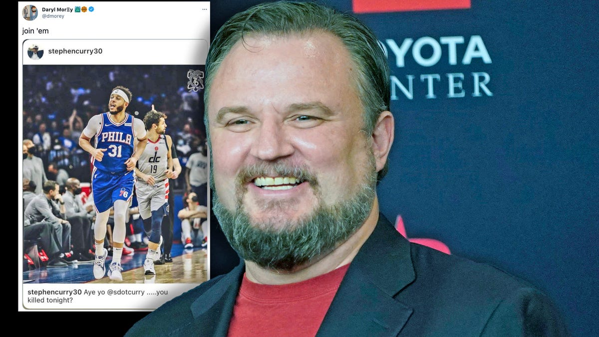 Daryl Morey tried to recruit Steph Curry and then lied about it...poorly