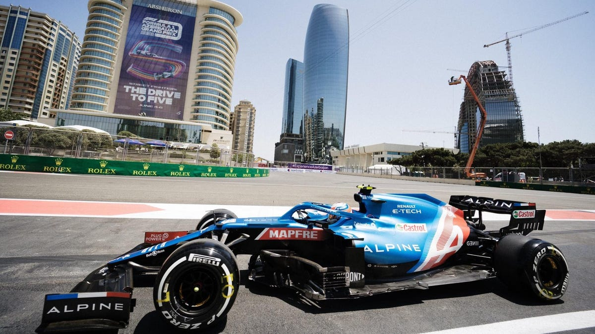 Alpine Signs Esteban Ocon For Another Three Years