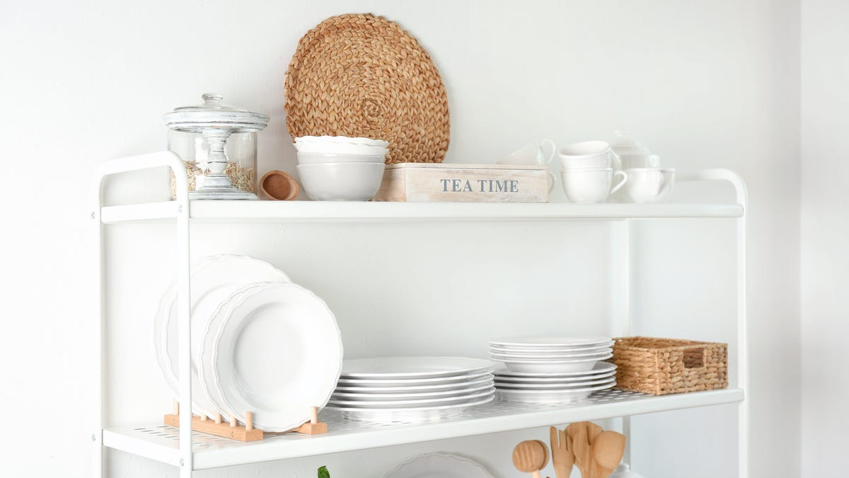 Declutter Your Kitchen With the 'One Shelf Method'