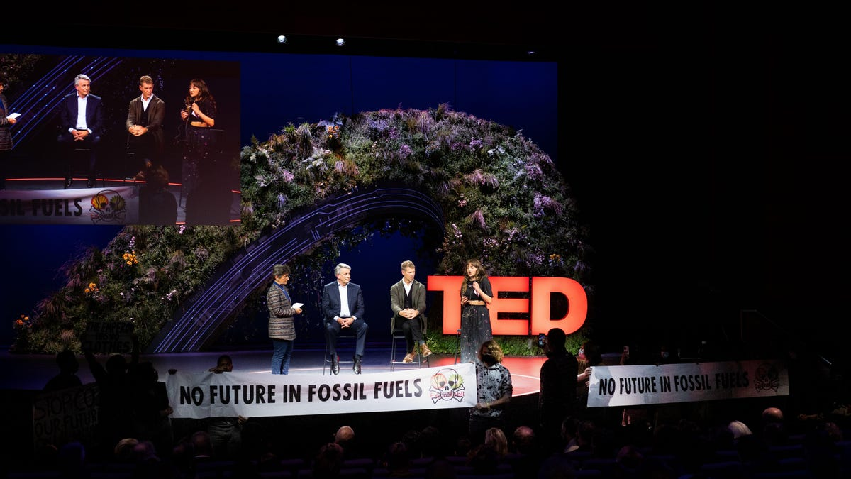 Shell CEO Roasted at TED Climate Conference He Was Foolishly Invited to Speak At