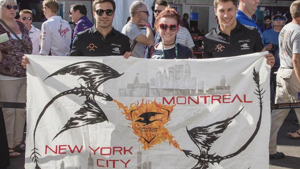So habe ich drei Jahre damit verbracht, Banner für Motorsportveranstaltungen herzustellen