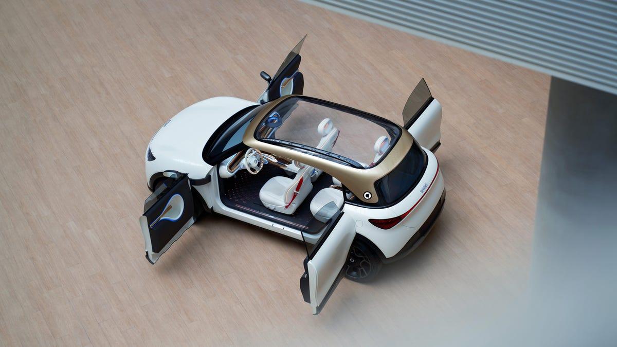 Smart wird wiedergeboren, mit seinem bisher größten Fahrzeug, einem 14-Fuß-Elektro-SUV€