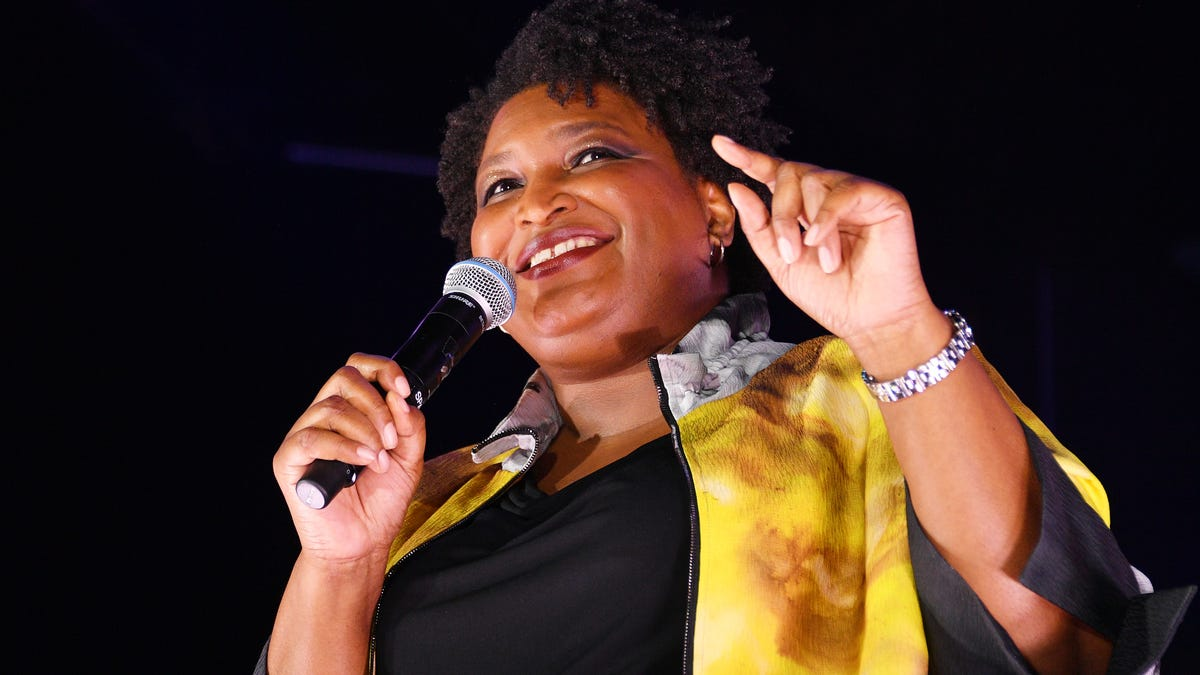 Stacey Abrams Kills Any Doubts About Her Desire to Become President: 'It's Still a Job That I Want'