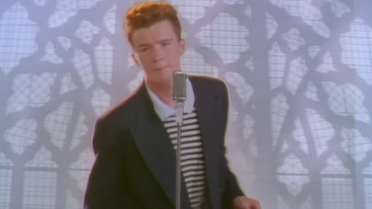 """Rick Astley's """"Never Gonna Give You Up"""" hits a billion views"""