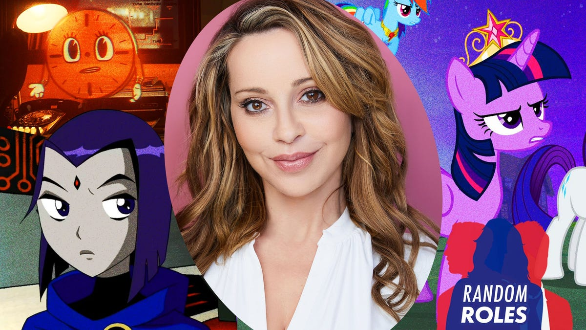 Tara Strong on Loki's Miss Minutes, My Little Pony, and Rugrats