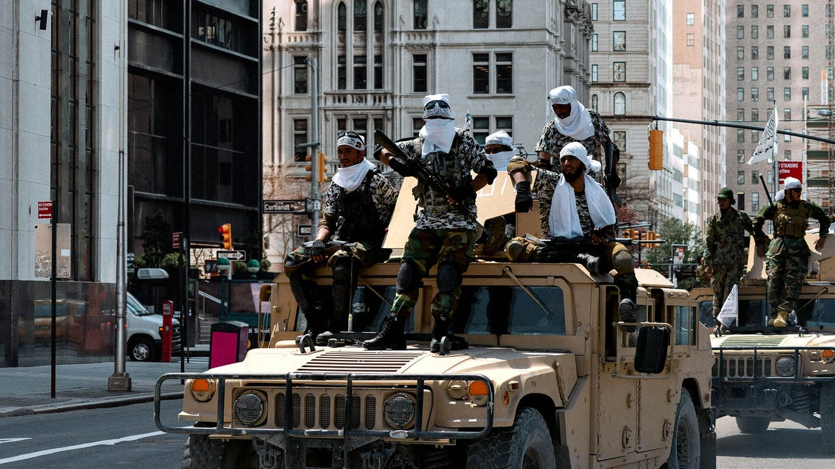 Taliban Overtakes Lower Manhattan Days After Biden Administration Leaves NYC 9/11 Commemoration