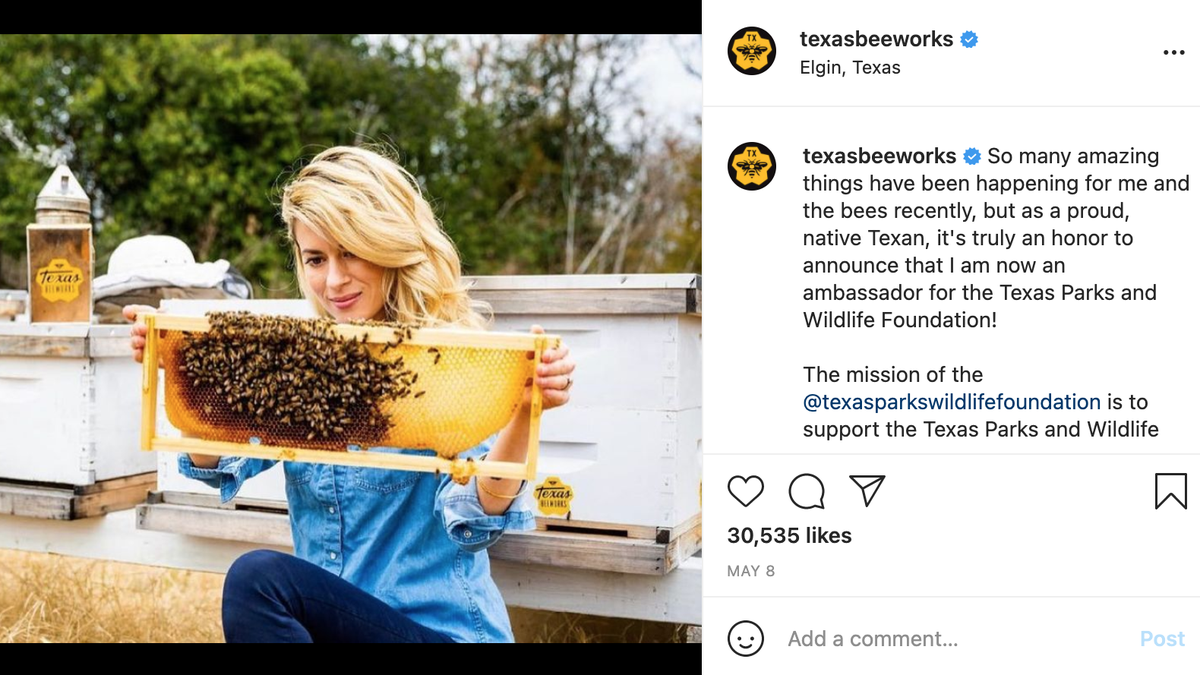 The Emerging Beef Between the Texas Bee Lady and the Beekeeping Critic Who Argues She's an Influencer Hoax