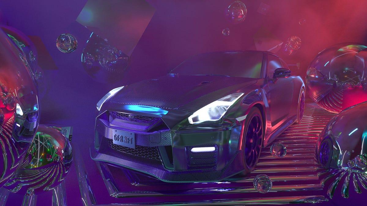 Dieser Nissan NFT wird mit einem kostenlosen GT-R NISMO geliefert