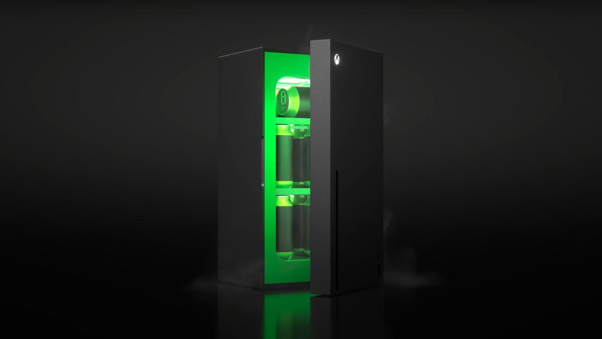 Microsoft Makes the Xbox Series X Mini Fridge Meme a Reality
