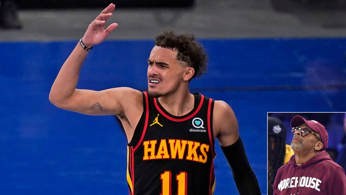 Trae Young Silences MSG Crowd To Tell Spike Lee 'School Daze' Had Too Many Plotlines