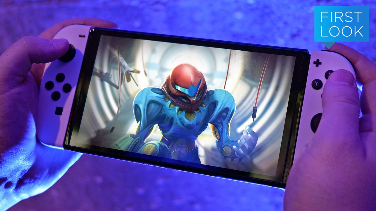 Nintendo's New OLED Switch Is What the Original Should Have Been