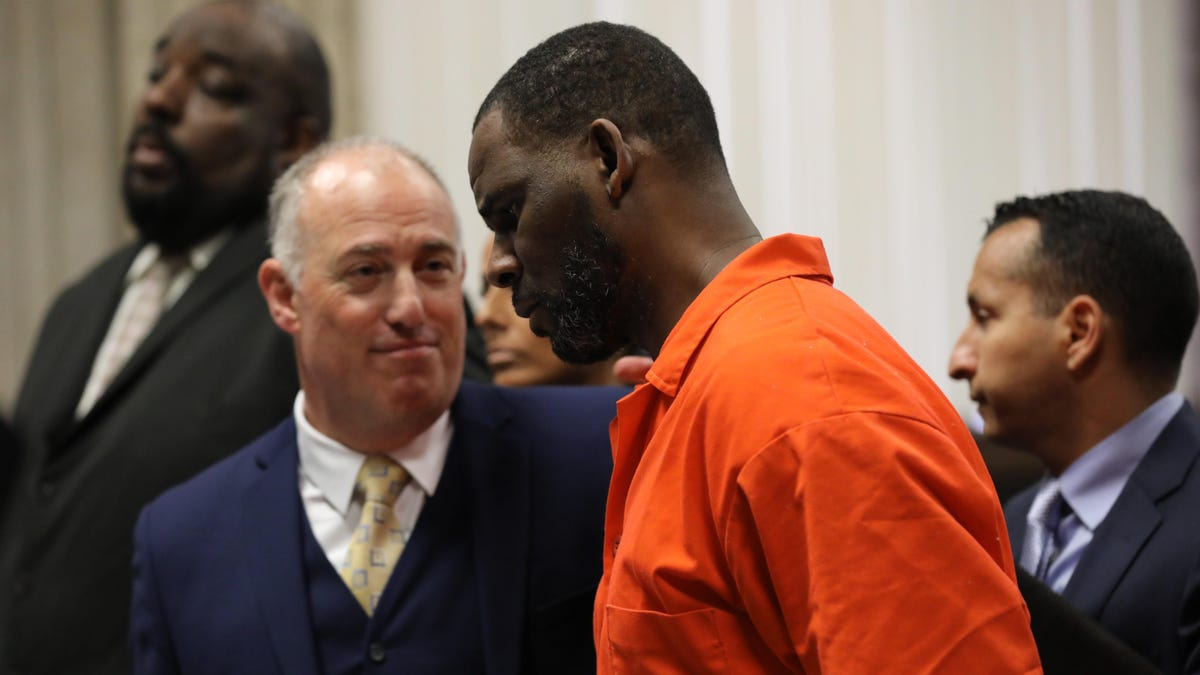 Singer R. Kelly found guilty of racketeering and sex trafficking