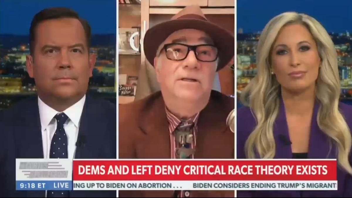 Newsmax Guest Says Critical Race Theory Will Lead to Nazi-Style Death Camps for White People