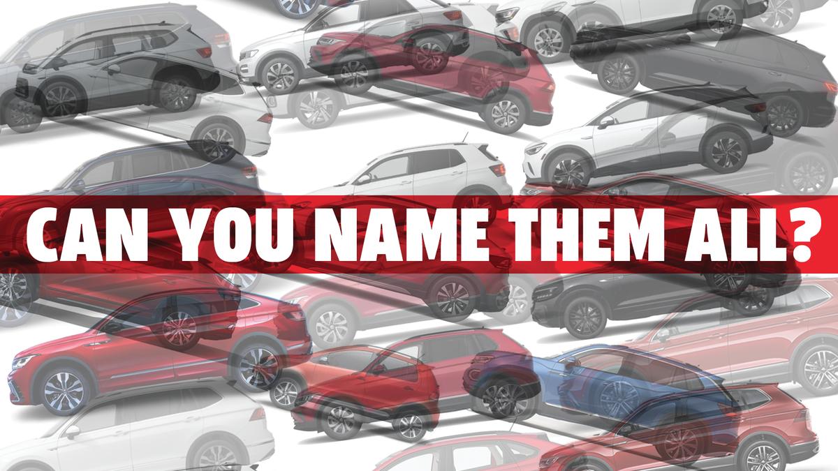 Ich wette, Sie können nicht jeden Volkswagen SUV identifizieren, der jetzt verkauft wird