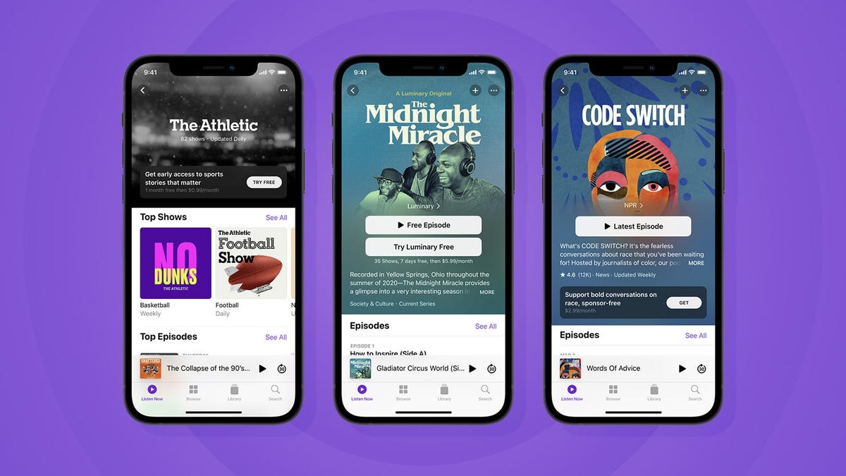You'll Have to Wait Until June for Apple's Paid Podcast Subscription Service thumbnail