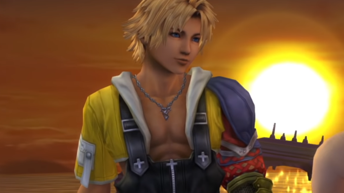 Final Fantasy X's Tidus Was Originally A Plumber - Kotaku
