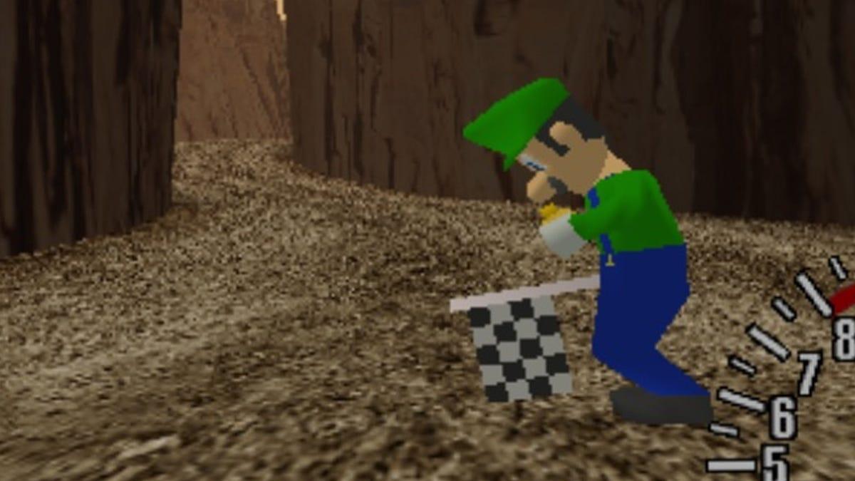 Luigi Discovered In Sega Dreamcast Prototype