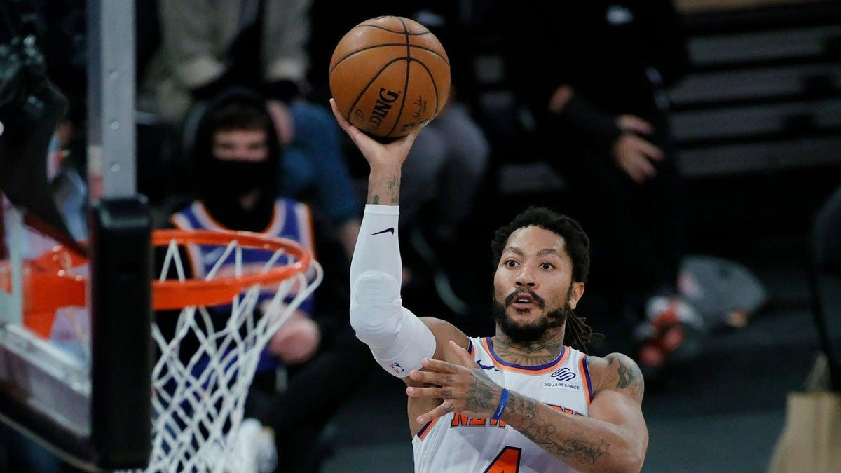 Knicks fans were skeptical, and then Derrick Rose became their third-most important player