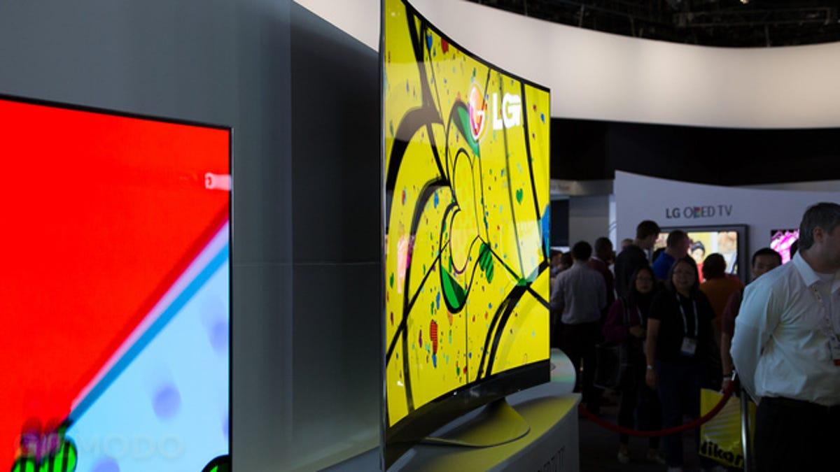 Los primeros televisores 4K OLED curvados de LG ya son realidad