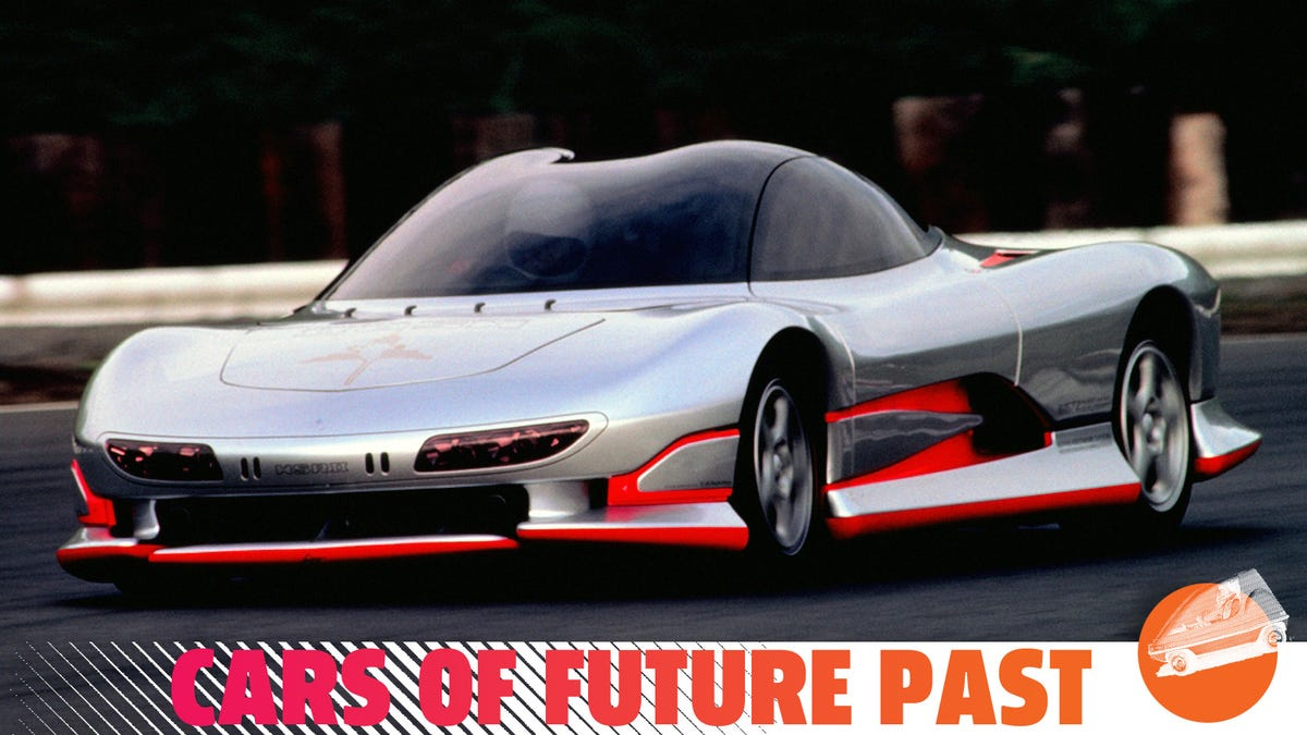 The 1989 HSR-II Concept Was Mitsubishi At Its Most Wildly Ambitious