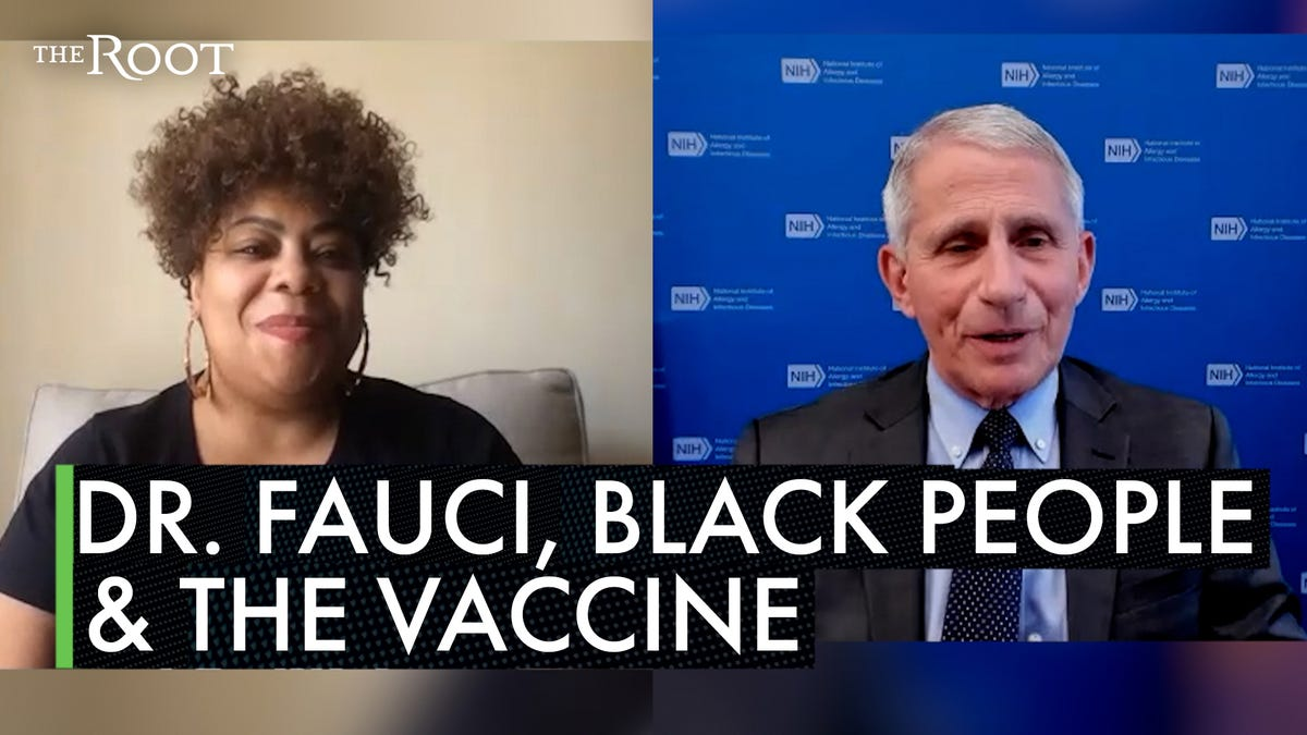 Dr. Anthony Fauci Speaks to The Root About the COVID-19 Vaccines