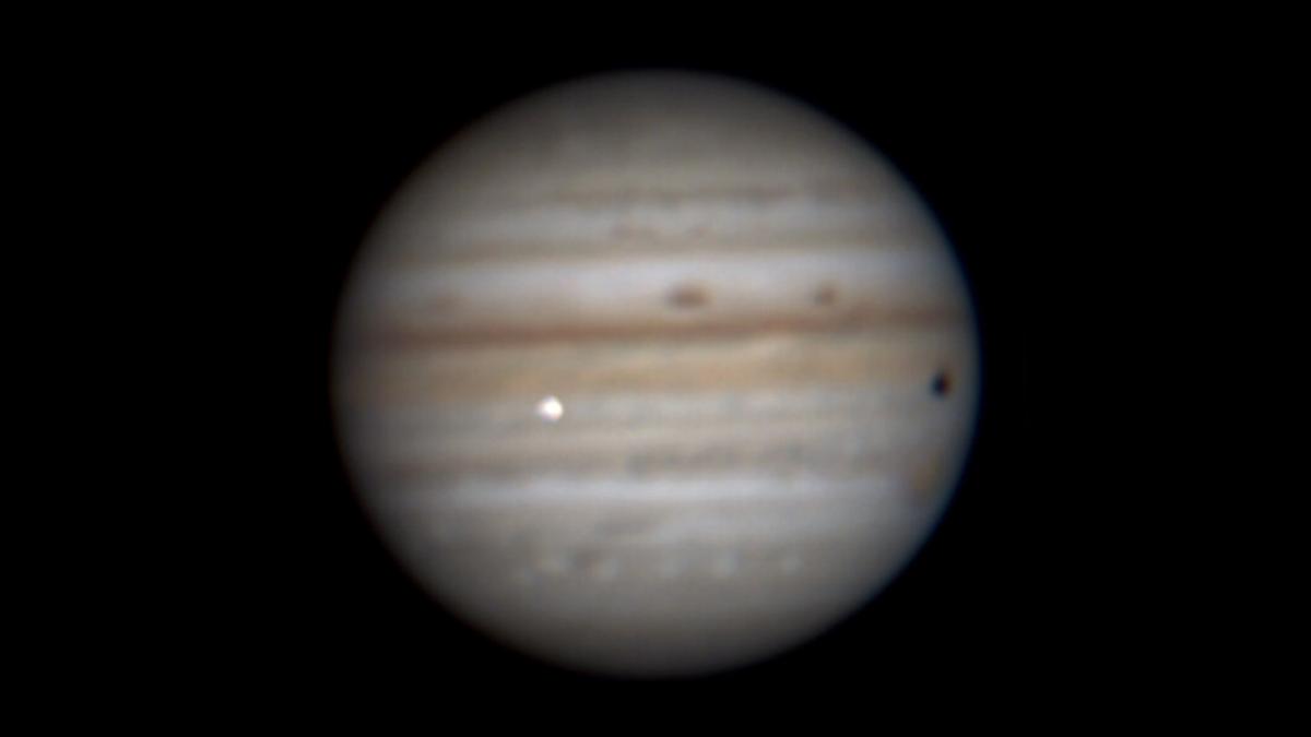 Amateur Astronomers Spot Fireball on Jupiter