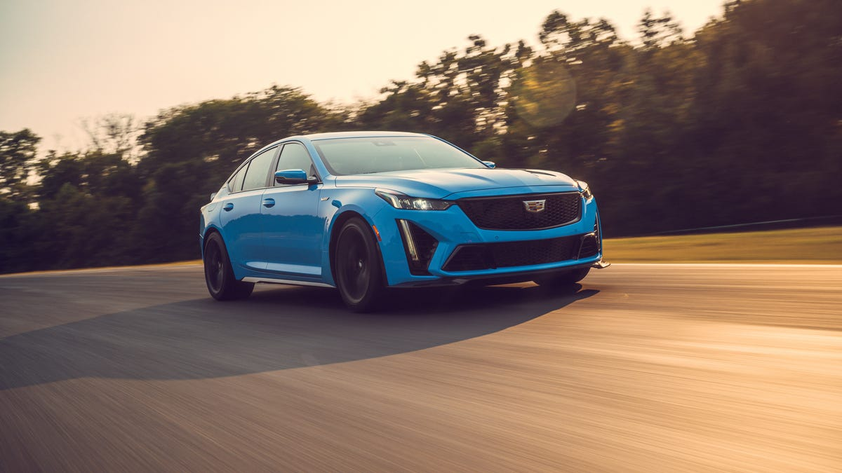 Cadillac's Blackwing Cars Are The Last Combustion Powered Sedans That Matter