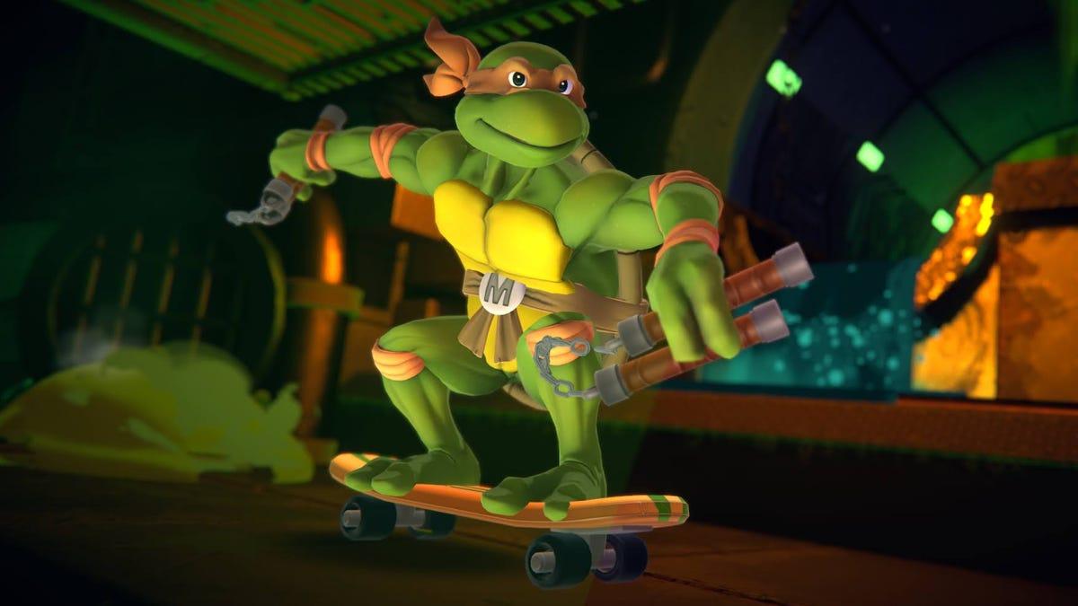 Nickelodeon All-Star Brawl's First Big-Money Tournament Bans Ninja Turtle Michelangelo