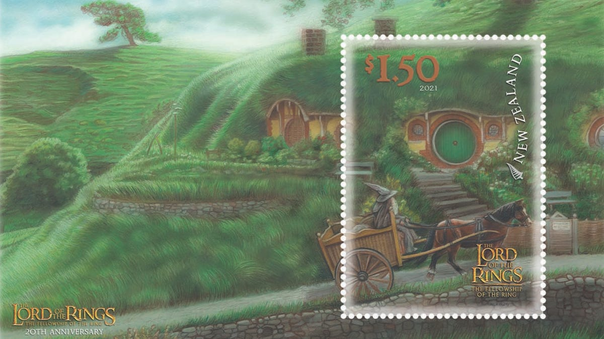 New Lord of the Rings Stamps Will Get Your Mail to Mordor thumbnail