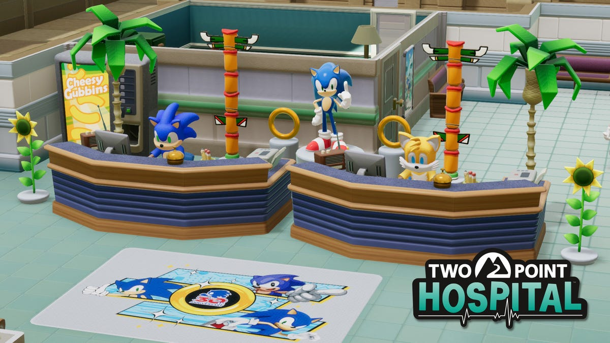 Sonic Is A Doctor and Psychiatrist Now, Thanks To Sega